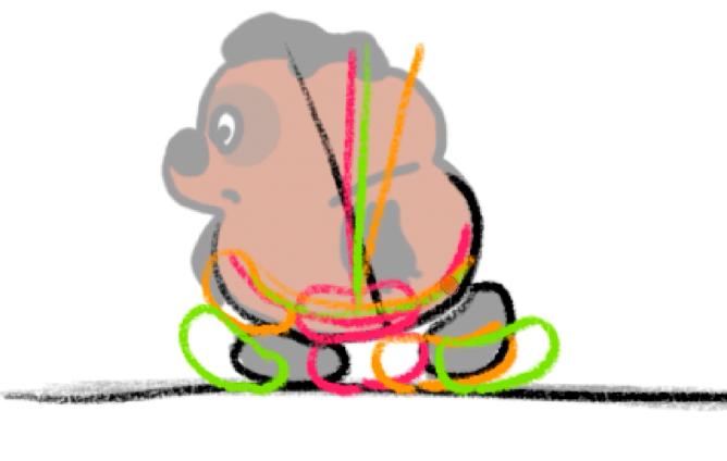 все фазы анимации походки